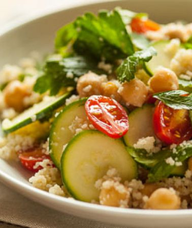 Image result for 15-MINUTE COUSCOUS SALAD WITH ZUCCHINI AND PARSLEY